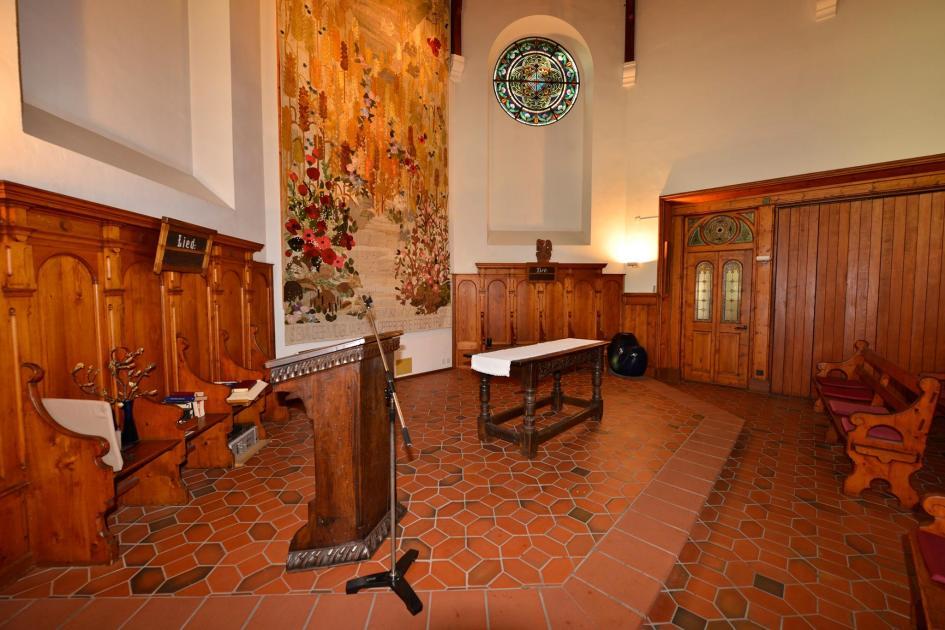 Chiesa Bellinzona Interno