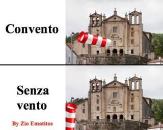 convento, senza vento