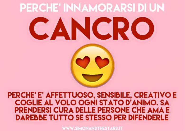 Perchè innamorarsi di un cancro!