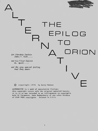Copertina di Alternative - Creata daGerry Downes