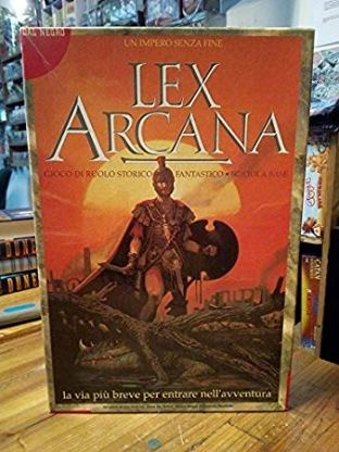 La vecchia edizione di Lex Arcana
