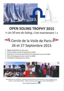 open soling trophy 2015
