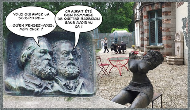 Discussion du médaillon copie