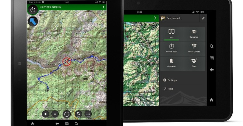 ViewRanger Outdoors Adventure GPS Launches On Amazon's