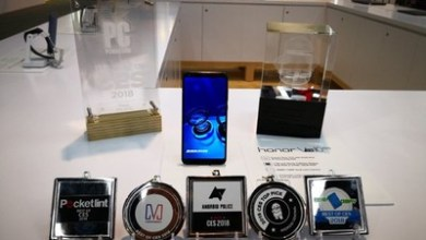 Photo of Honor View10 Gains Industry-wide Recognition at CES 2018