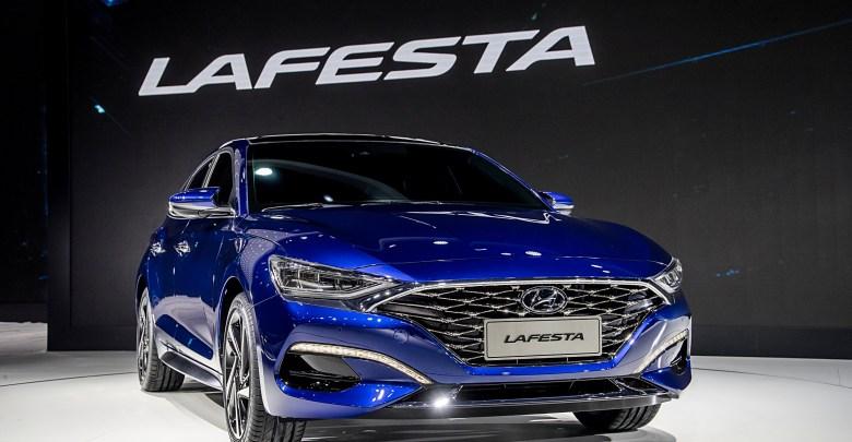 Hyundai Motor Premieres China-Focused Sporty Sedan LAFESTA at