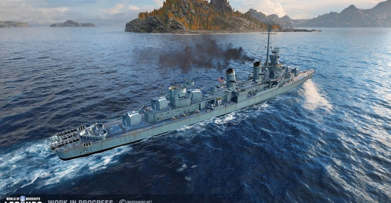 FIRST TRAILER FOR NAVAL COMBAT GAME WORLD OF WARSHIPS