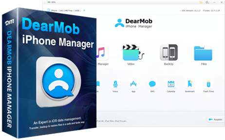 DearMob iPhone Manager V3 1 for Windows Released! Tailored