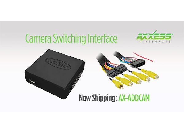 Axxess AX-ADDCAM-CH3 Car Wiring Harness Fits for 2011-UP Chrysler Dodge Vehicles