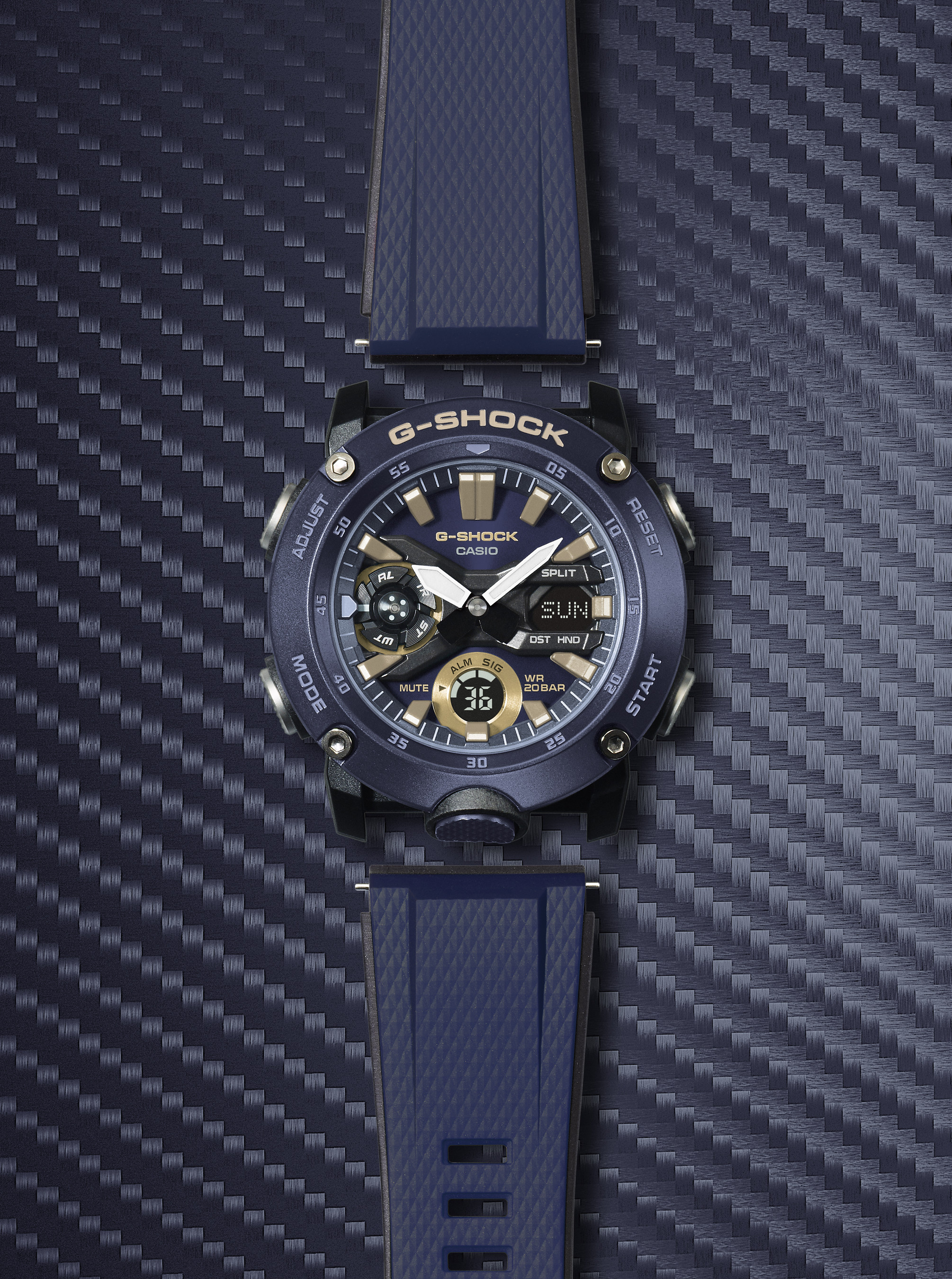 2297229b9dc1 Casio G-SHOCK Introduces New GA2000 Watch At Baselworld 2019 ...