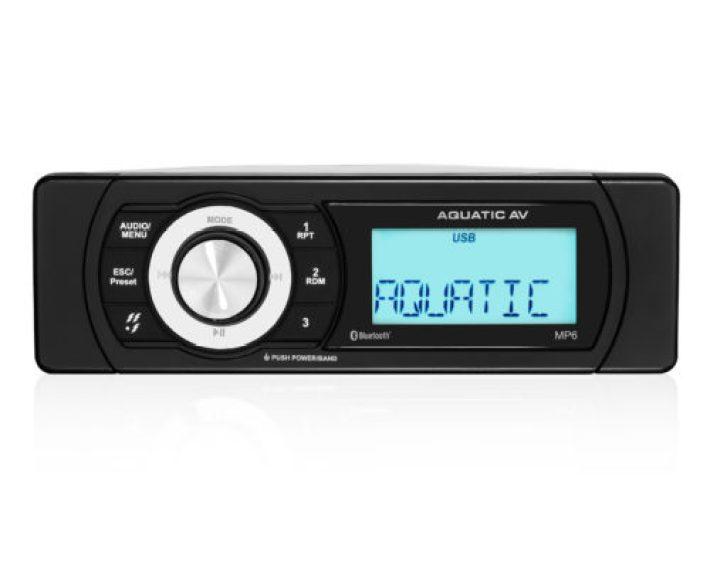 Aquatic AV MP6 Shallow Mount Bluetooth & USB Waterproof Marine