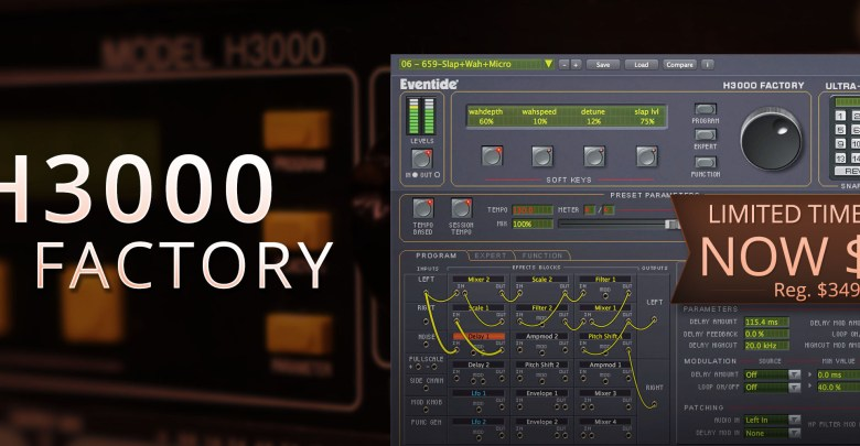 Eventide H3000 software plug-in for just $79 – Cerebral-Overload