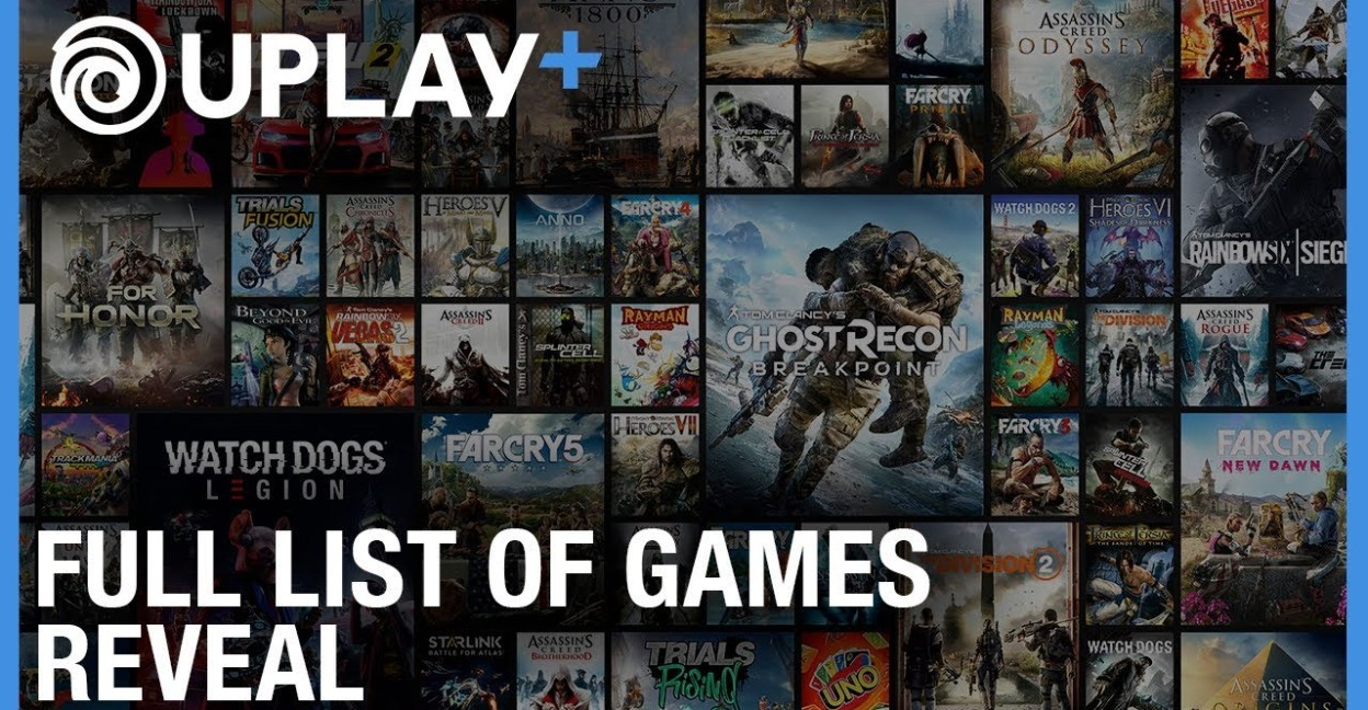 FULL LIST OF GAMES COMING TO UPLAY+ REVEALED – Cerebral-Overload