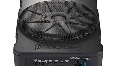 Photo of KICKER® Expands the Hideaway Compact Powered Subwoofer Line with a 10-inch Model