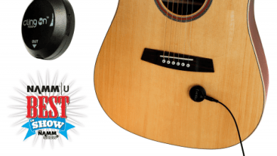 Photo of Cling On Pickup – Acoustic Pickup with Ultra Quick Magnetic Attachment