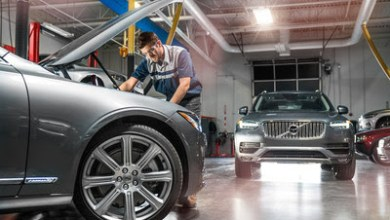 Photo of Universal Technical Institute's core automotive program outfitted with Volvo's Advanced and Electrified Vehicles