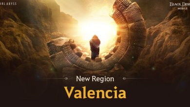 Photo of New Valencia Region Arrives in Black Desert Mobile