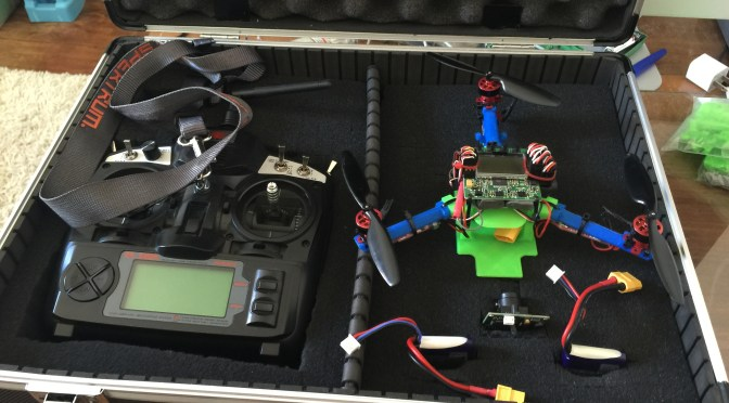 Tinkering – The Micro Tricopter