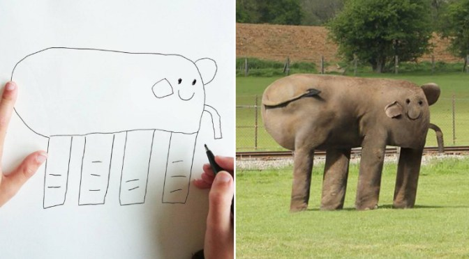 Dad Turns His 6-Year-Old Son's Drawings Into Reality – Dad Tech