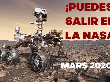 ¡Puedes salir en la NASA!