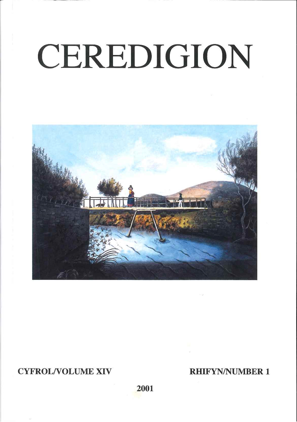Ceredigion Journal of the Ceredigion Antiquarian Society Vol XIV, No I 2001 - ISBN 0069 2263