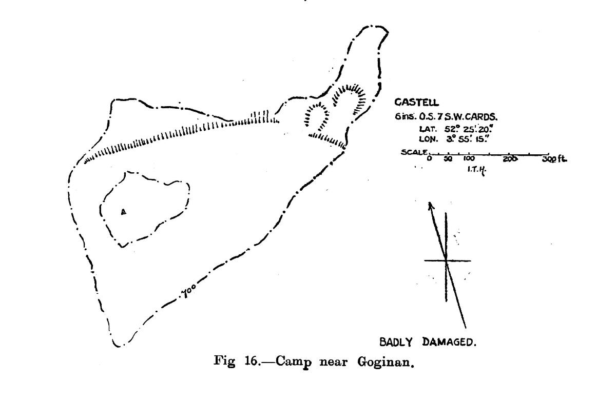 Site plan of Camp near Goginan