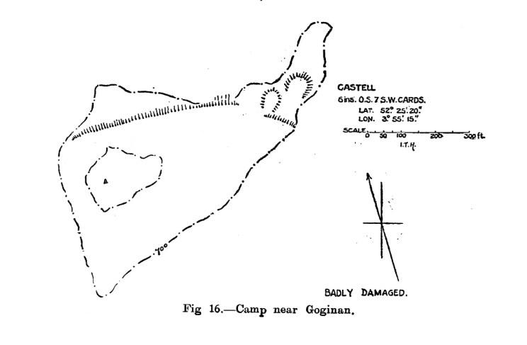Site plan of Camp near Goginan