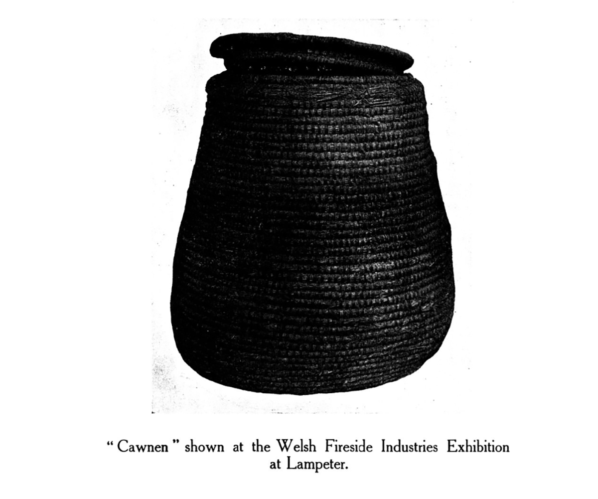 Cawnen shown at the Welsh Fireside Industries Exhibition at Lampeter