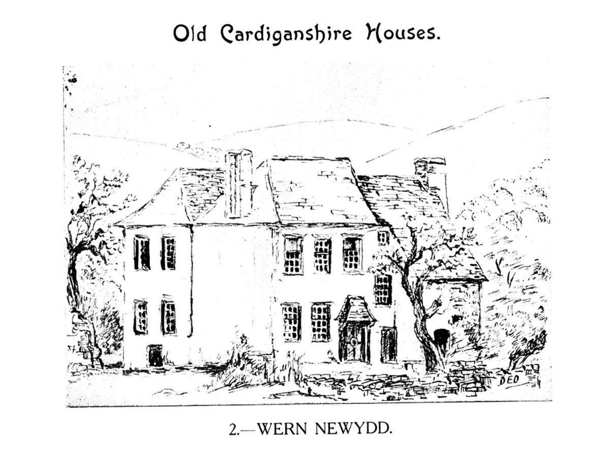 Hen Dai Sir Aberteifi - Wern Newydd, Llanarth, Ceredigion