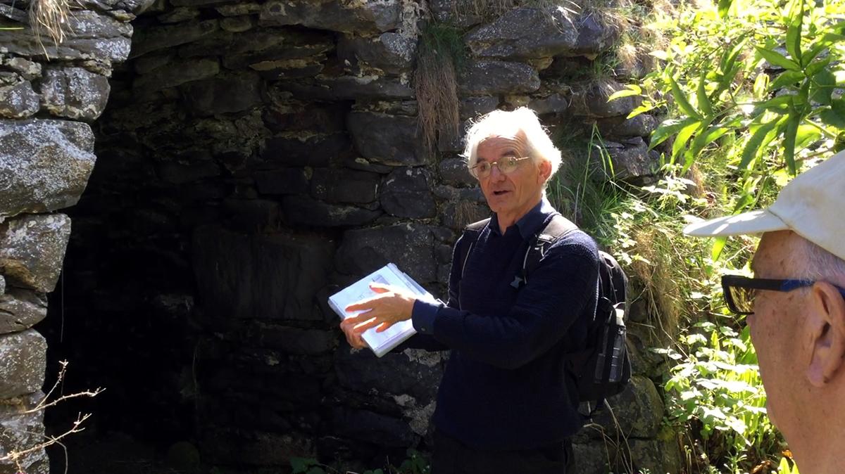 Michael Freeman talks to the Ceredigion Historical Society about Craiglas Limekilns