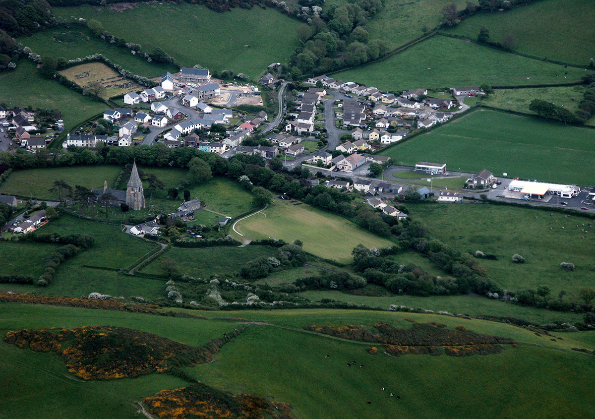 History of Llanrhystud - Discover the archaeology, antiquities and history of Ceredigion