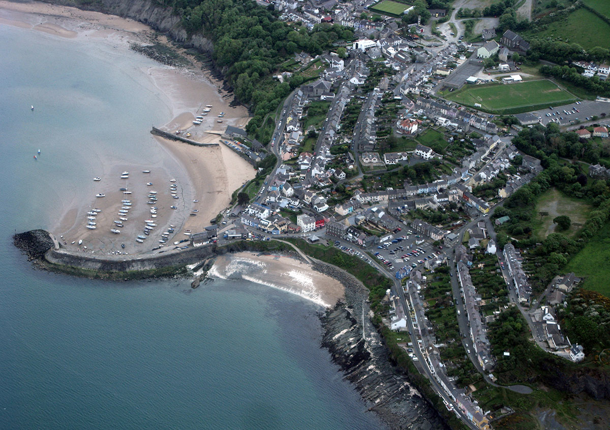 New Quay Historic Harbour - Discover the archaeology, antiquities and history of Ceredigion