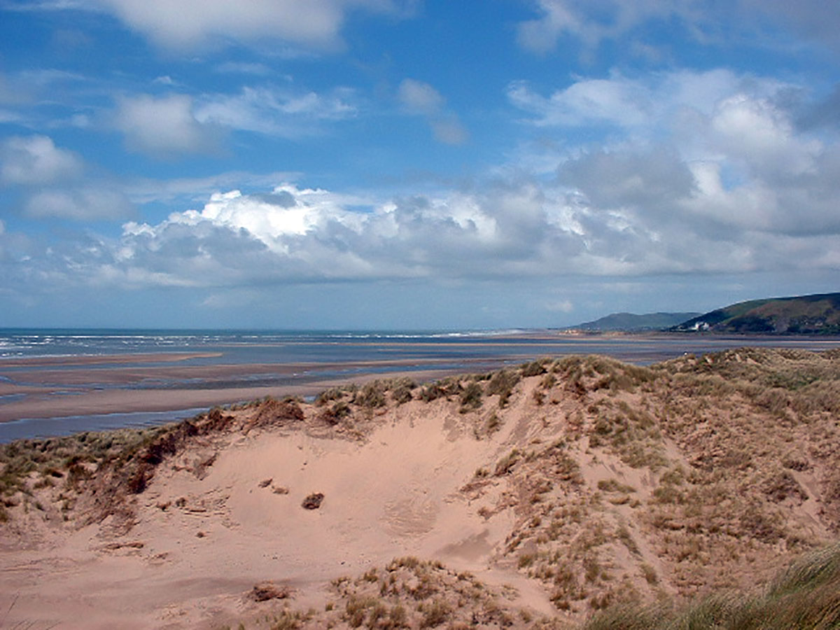 Ynyslas Sand Dunes - Discover the archaeology, antiquities and history of Ceredigion