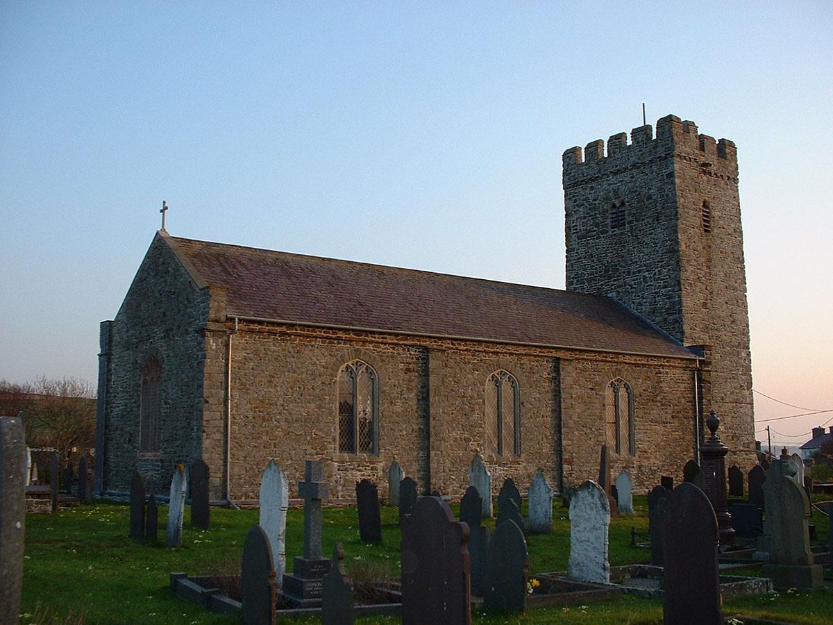 Eglwys Llansantffraid Llanon - Darganfyddwch archeoleg, hynafiaethau a hanes Ceredigion