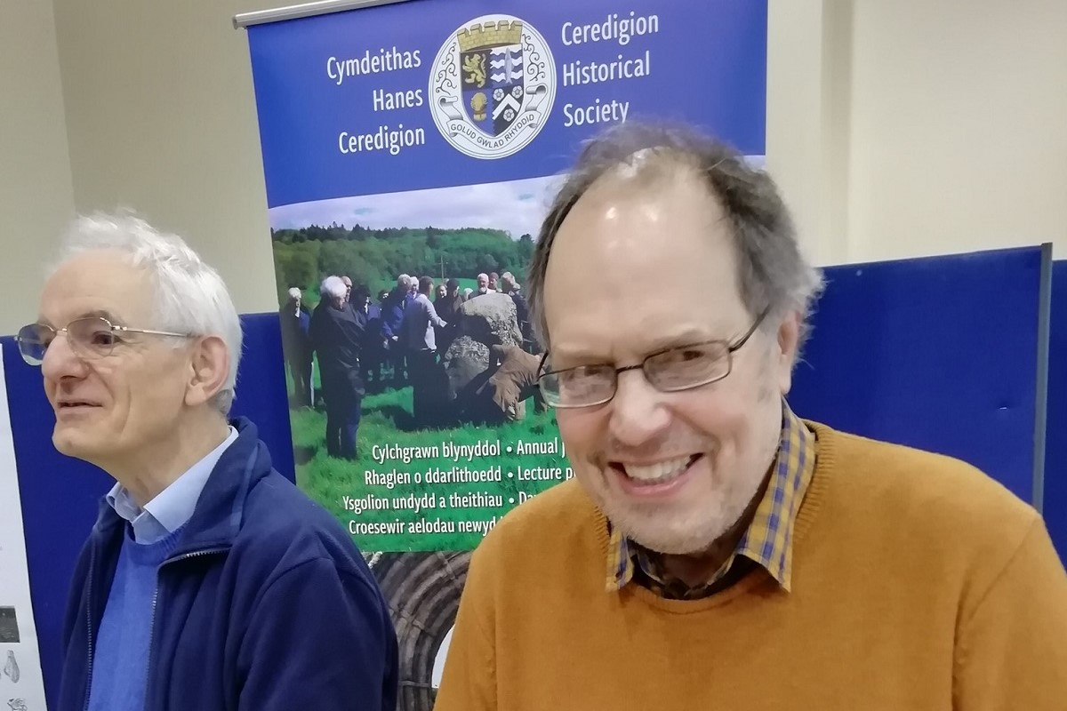 Ceredigion Historical Society Officials at the Dyfed Archaeology day