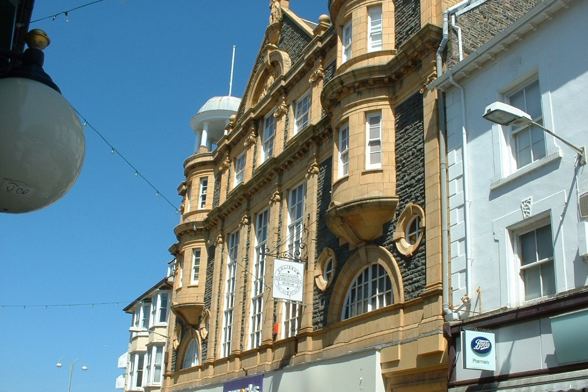 Ceredigion Museum Shop once Coliseum Theatre Aberystwyth