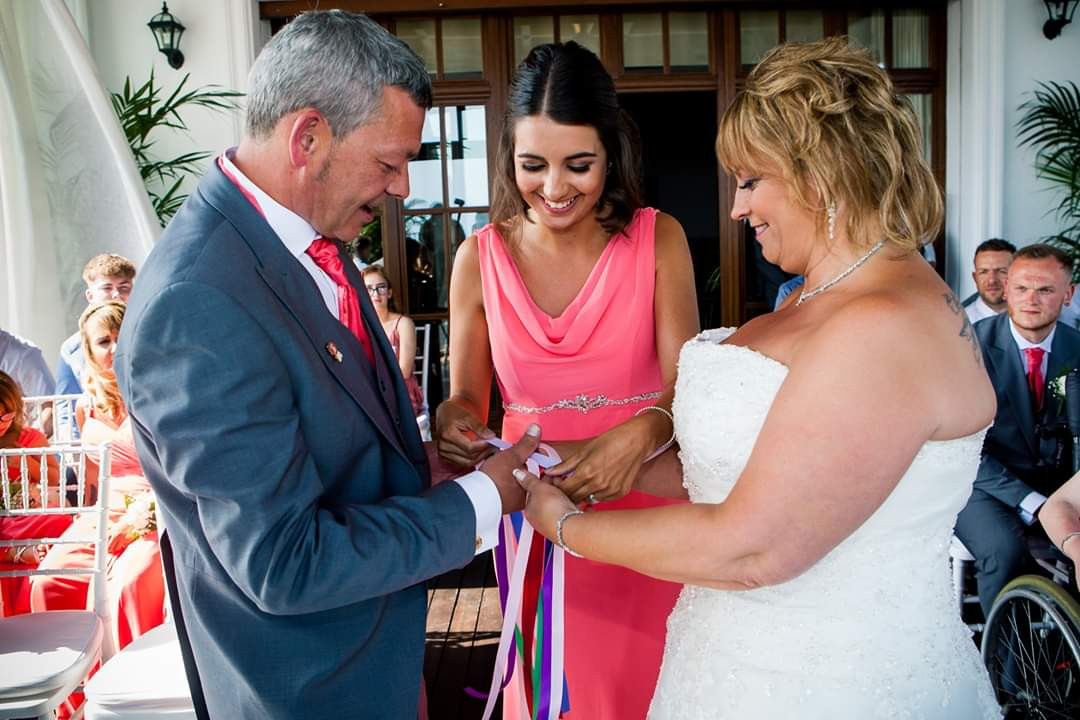 Handfasting as part of your wedding ceremony