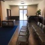受付パーテーション全開葬儀葬式の間-浄蓮会館