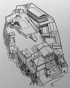 greek_classic_acropolis_plan_isometric_aerial