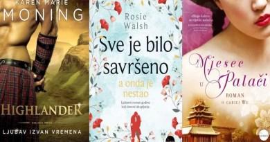 Novi ljubavni romani na policama knjižara