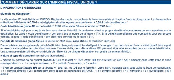 comment declarer ifu imprime fiscal unique 2561.png