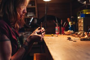 An Artist's Tools + Studio as Creative Identity