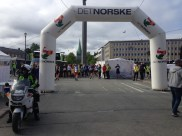 Like før start på St. Olavsloppet 2014.