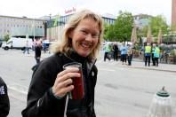 lagleder Inger-Lise Aamot før start av St. Olavsloppet 2015