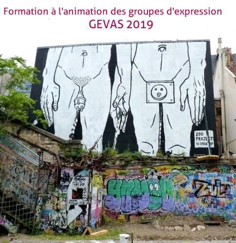 GEVAS 2019 : Formation à l'animation de groupes d'expression en santé sexuelle