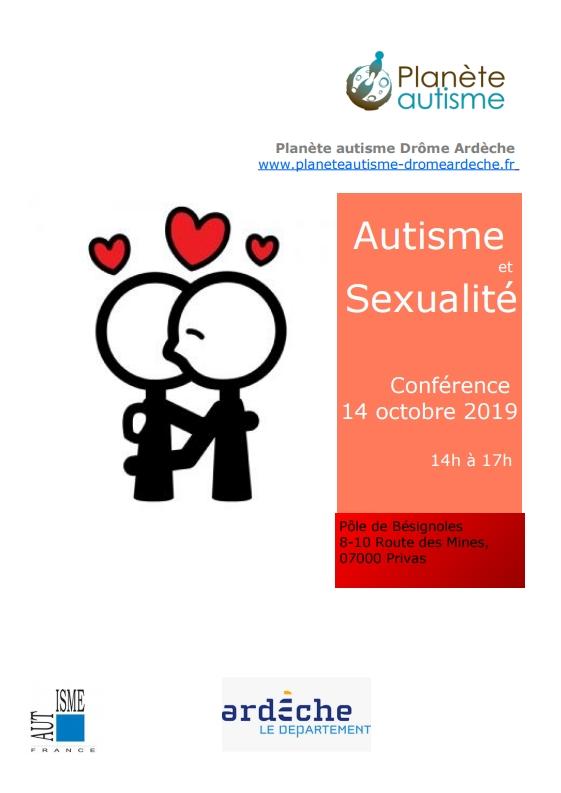 Autisme et sexualité : une conférence à Privas animée par Sandra MORATI
