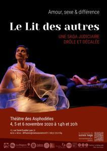 """Représentation de la pièce """"Le lit des autres"""" suivie d'un débat avec François CROCHON et Jennifer FOURNIER @ Théâtre des Asphodèles"""
