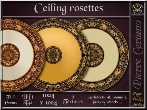 Ceiling rosettes SL Add