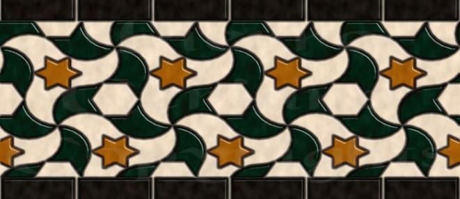 Alhambra Boarder Patio de los Arrayanes 1 s