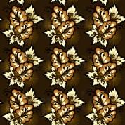 Golden flowers I - Butterfly s